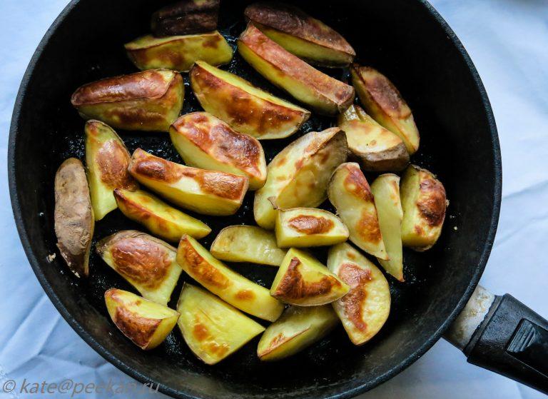 Как правильно в духовке сделать картошку