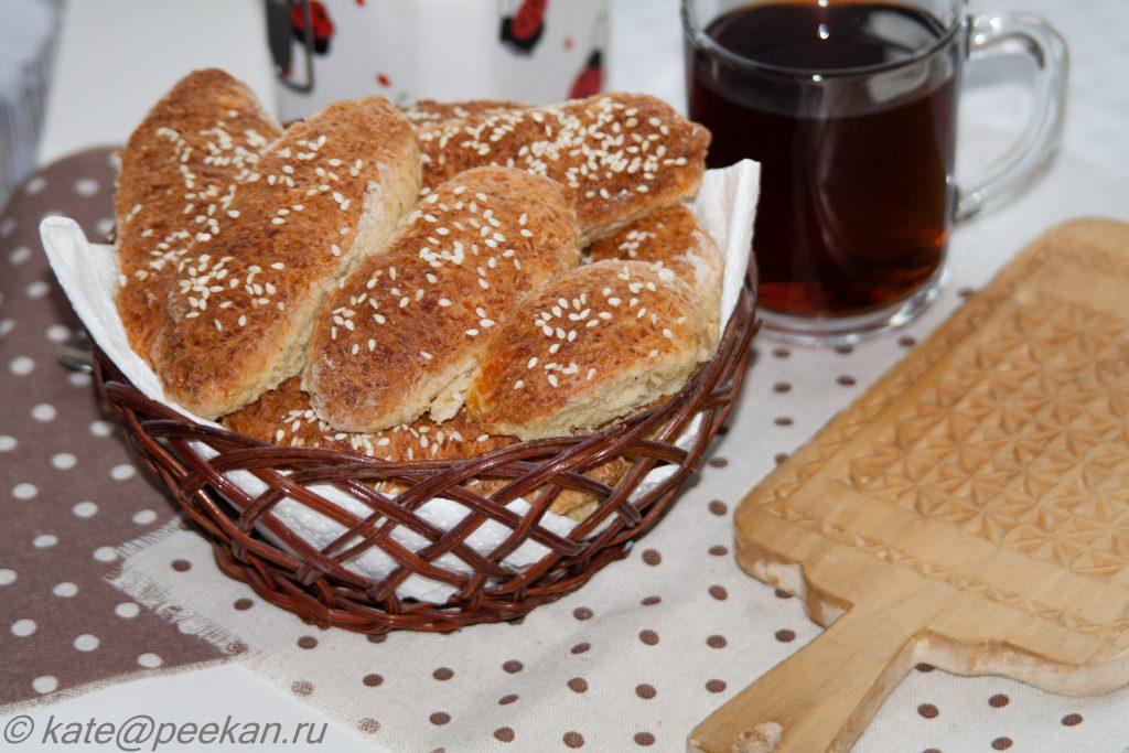 Печенье чиполлино с кунжутом рецепт